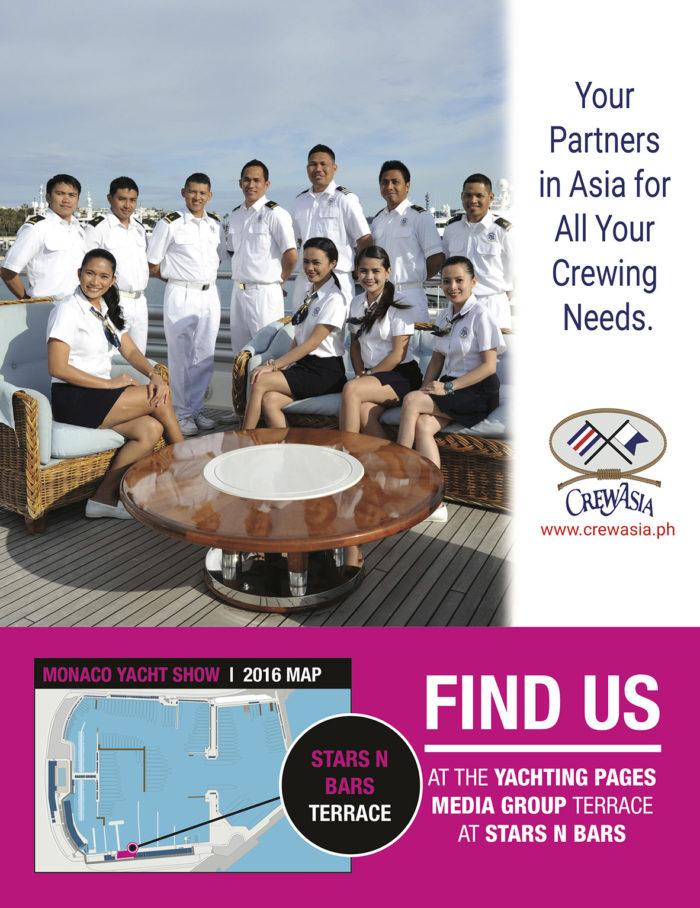 Crew Asia Monaco Yacht Show 2016